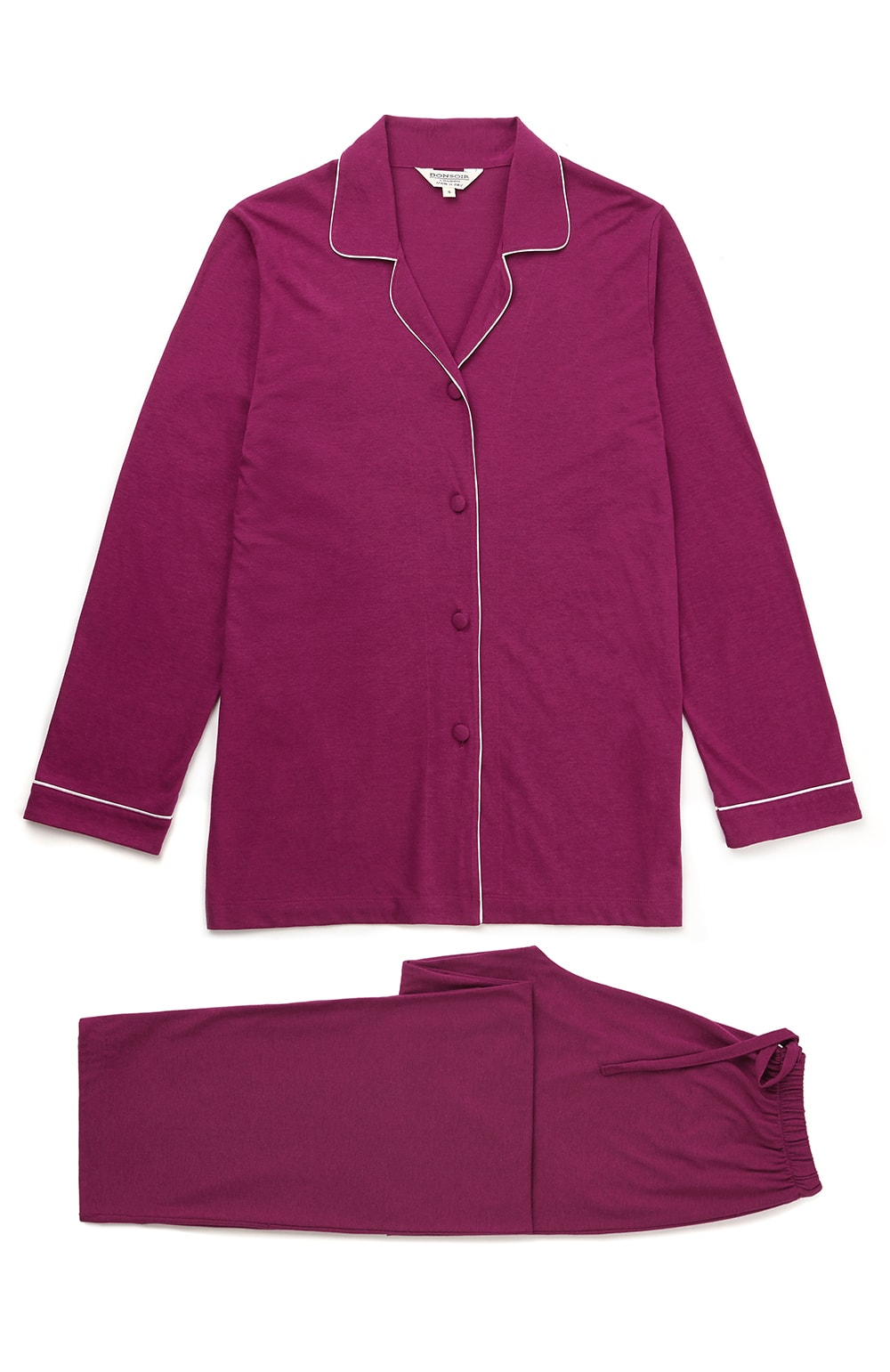JERSEY PYJAMAS - BERRY