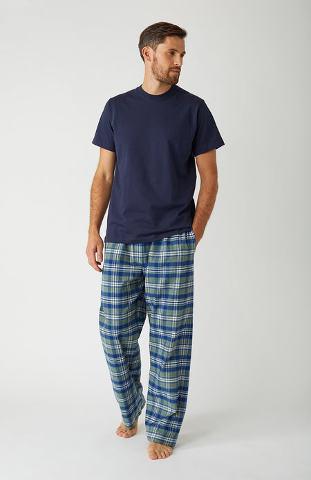 Brushed Cotton Farringdon Pyjama Trousers | Bonsoir of London