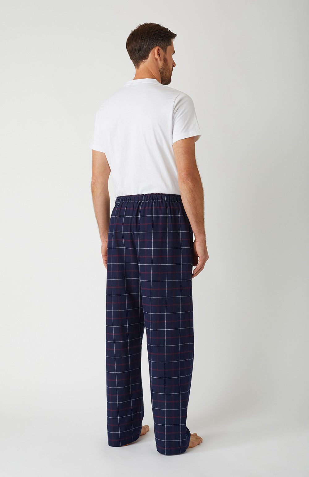 Brushed Cotton Pembury Pyjama Trousers | Bonsoir of London