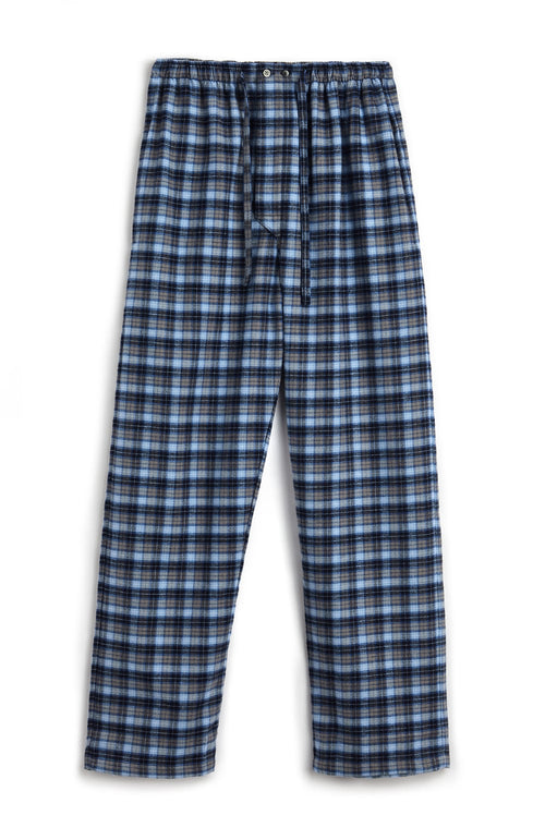 BRUSHED COTTON PYJAMA TROUSERS - DERWENT