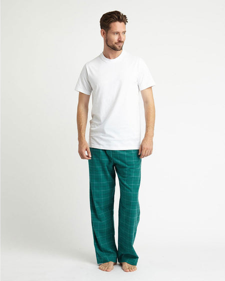 Brushed Cotton Pyjama Trousers (jm54) - Kendal | Bonsoir of London