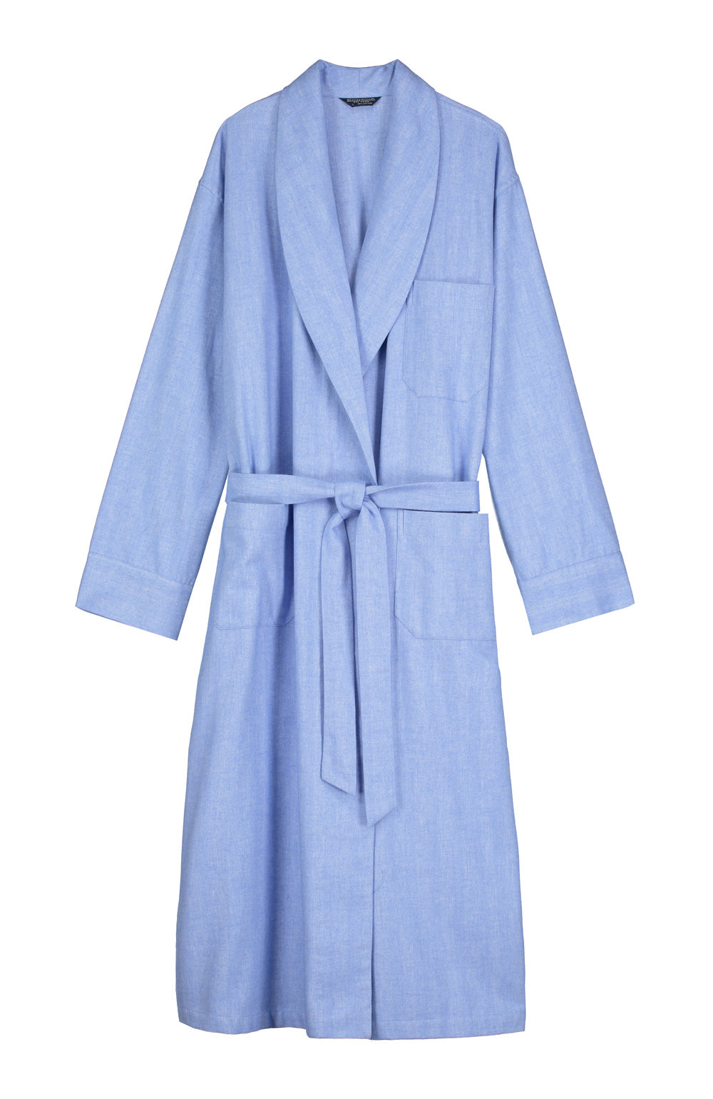 Brushed Cotton Gown (jmdg) - Sky