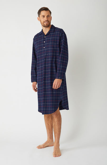 Brushed Cotton Pembury Nightshirt | Bonsoir of London