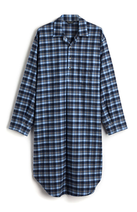Brushed Cotton Nightshirt (jmnm) - Derwent | Bonsoir of London