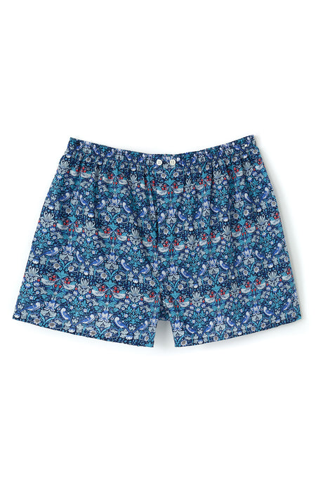 Strawberry Thief Boxers made with Liberty Fabric | Bonsoir of London