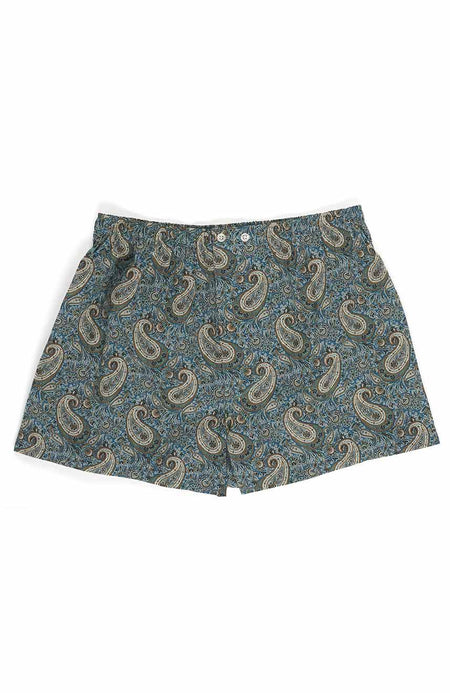 Men's Oscar Fine Cotton Boxer Shorts made with Liberty Fabric | Bonsoir of London