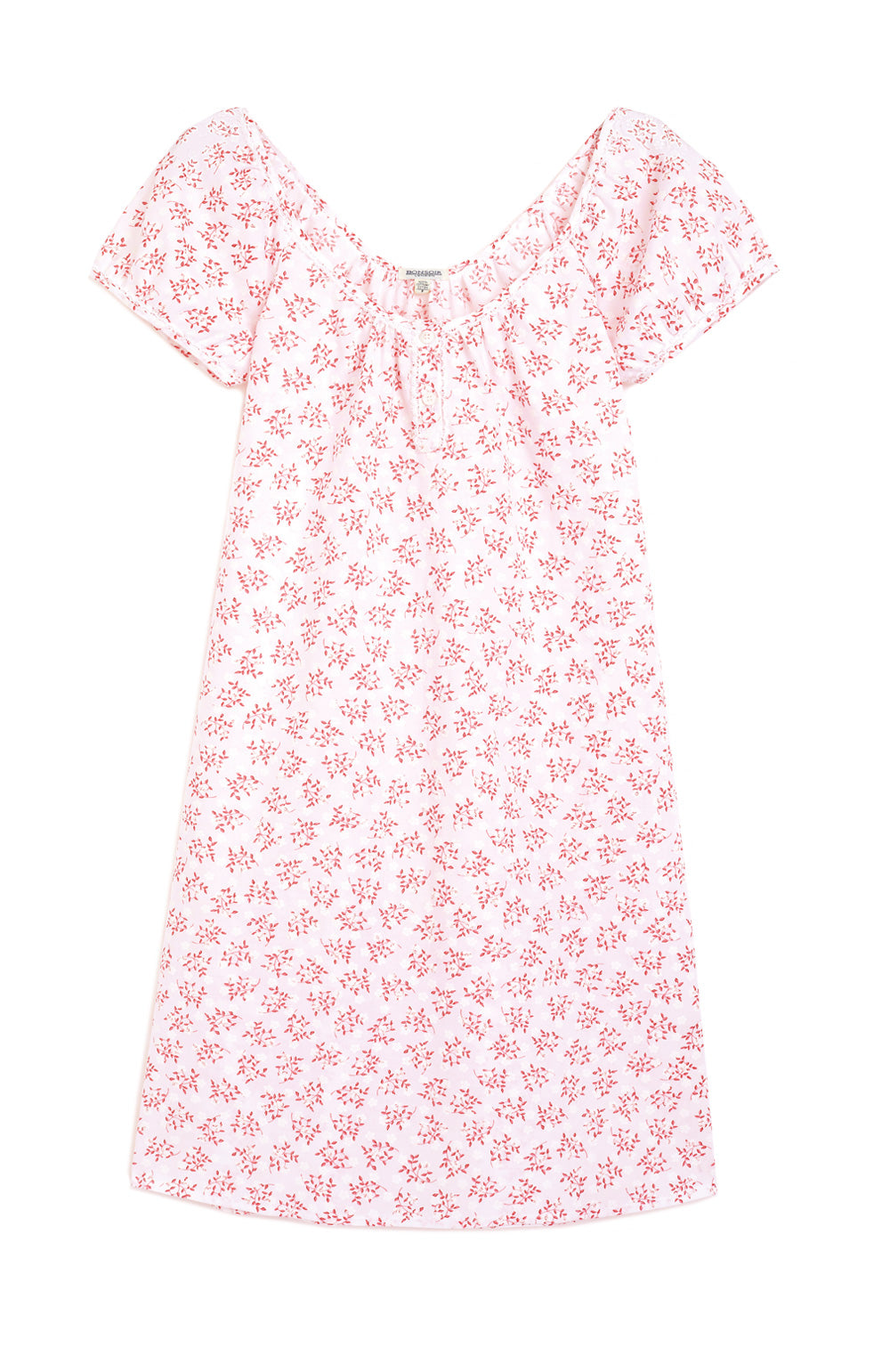 Lucy Nightdress (lucy) - Red Floral