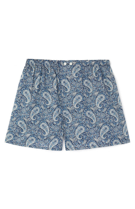 Liberty Boxer Shorts (lmbb) - Felix Blue
