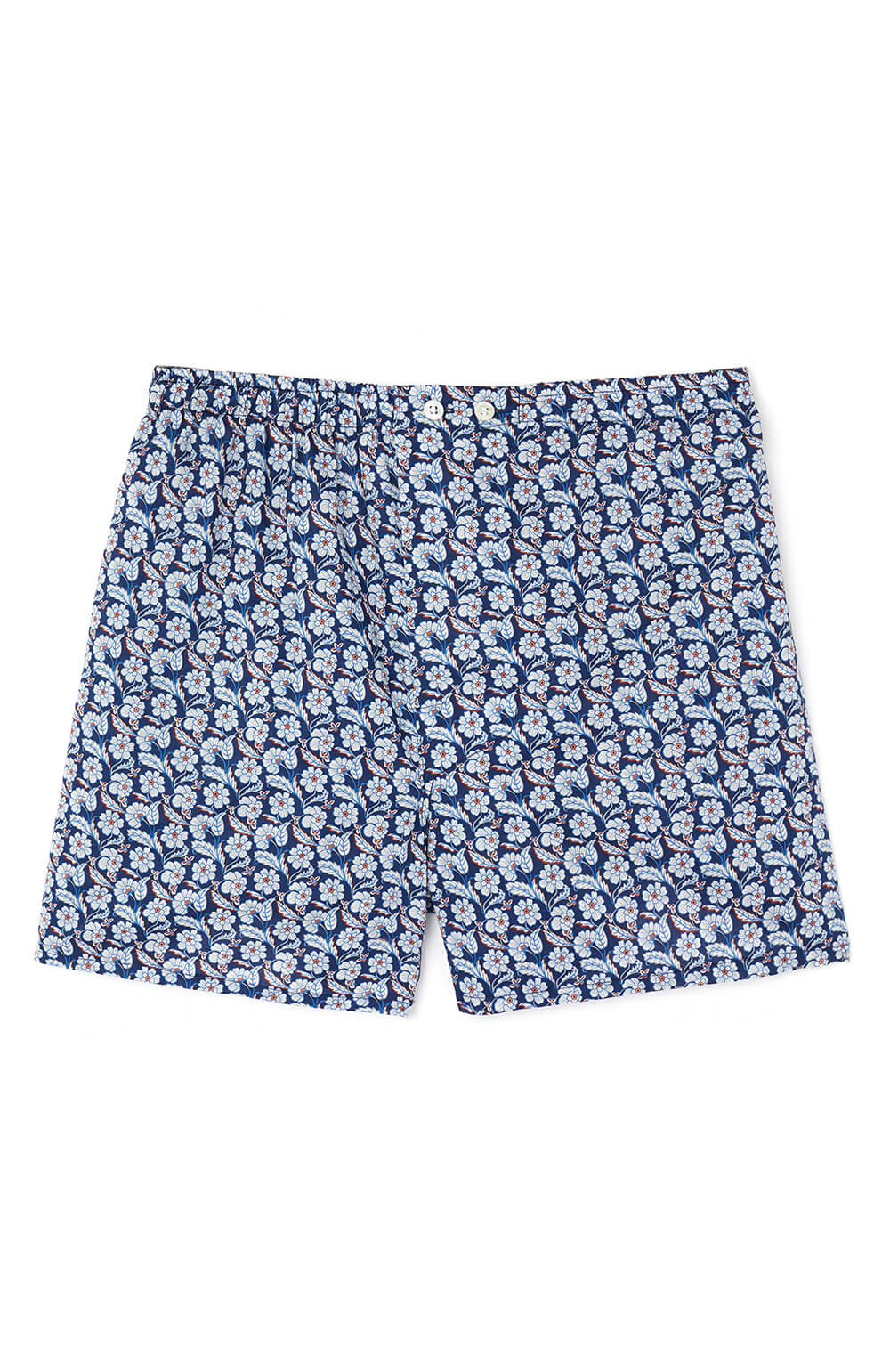 Fine Cotton Boxer Shorts made with Liberty Fabric (lmbb) - Chester