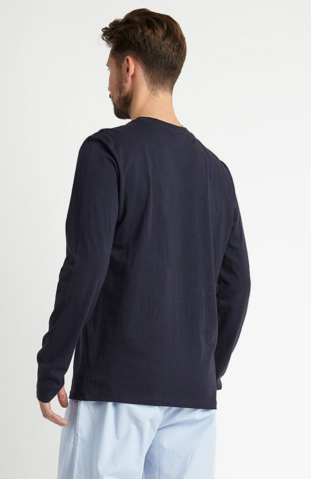 Long Sleeve T-Shirt (mllt) - Navy