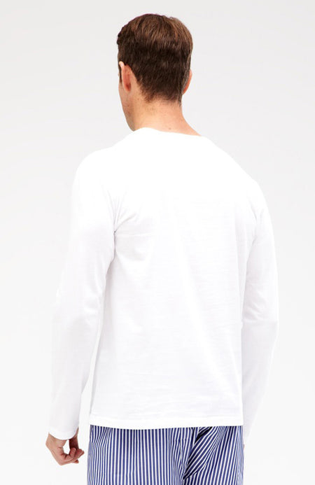 Long Sleeve T-Shirt (mllt) - White