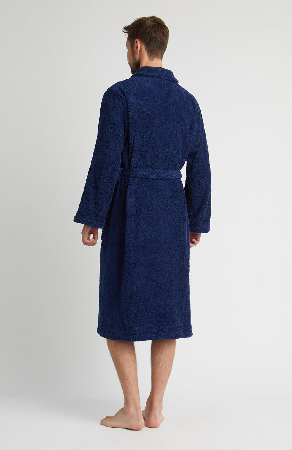 Unisex Towelling Robe (scbr) - Midnight