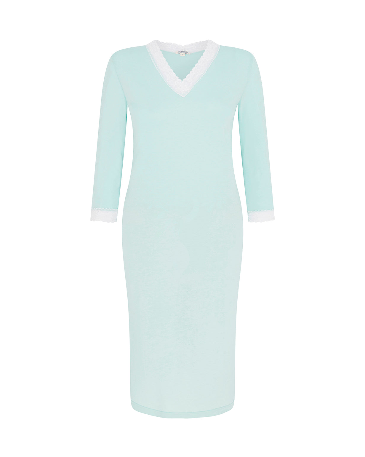 Women's Jersey Ella Nightdress - Mint