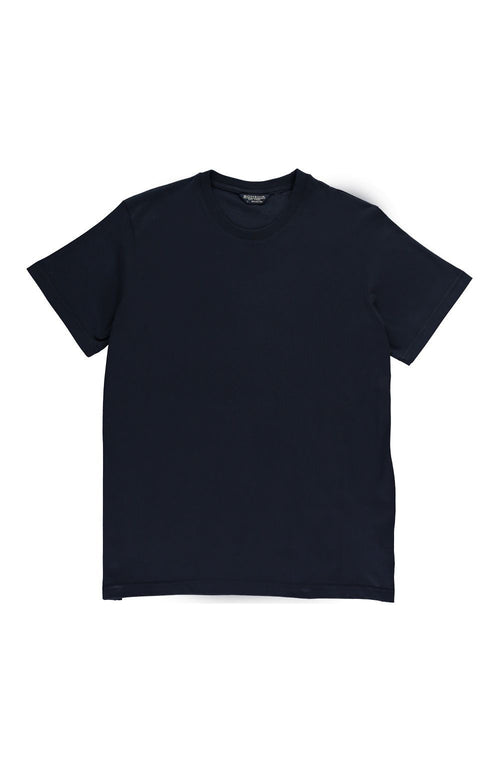 Plain Jersey T-Shirt (msst) - Navy