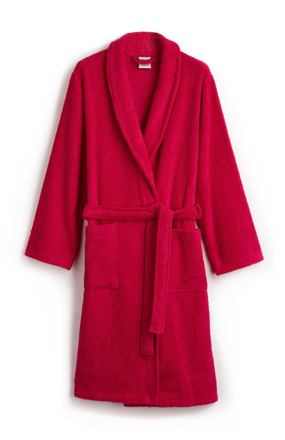 Towelling Robe Fuchsia | Bonsoir of London
