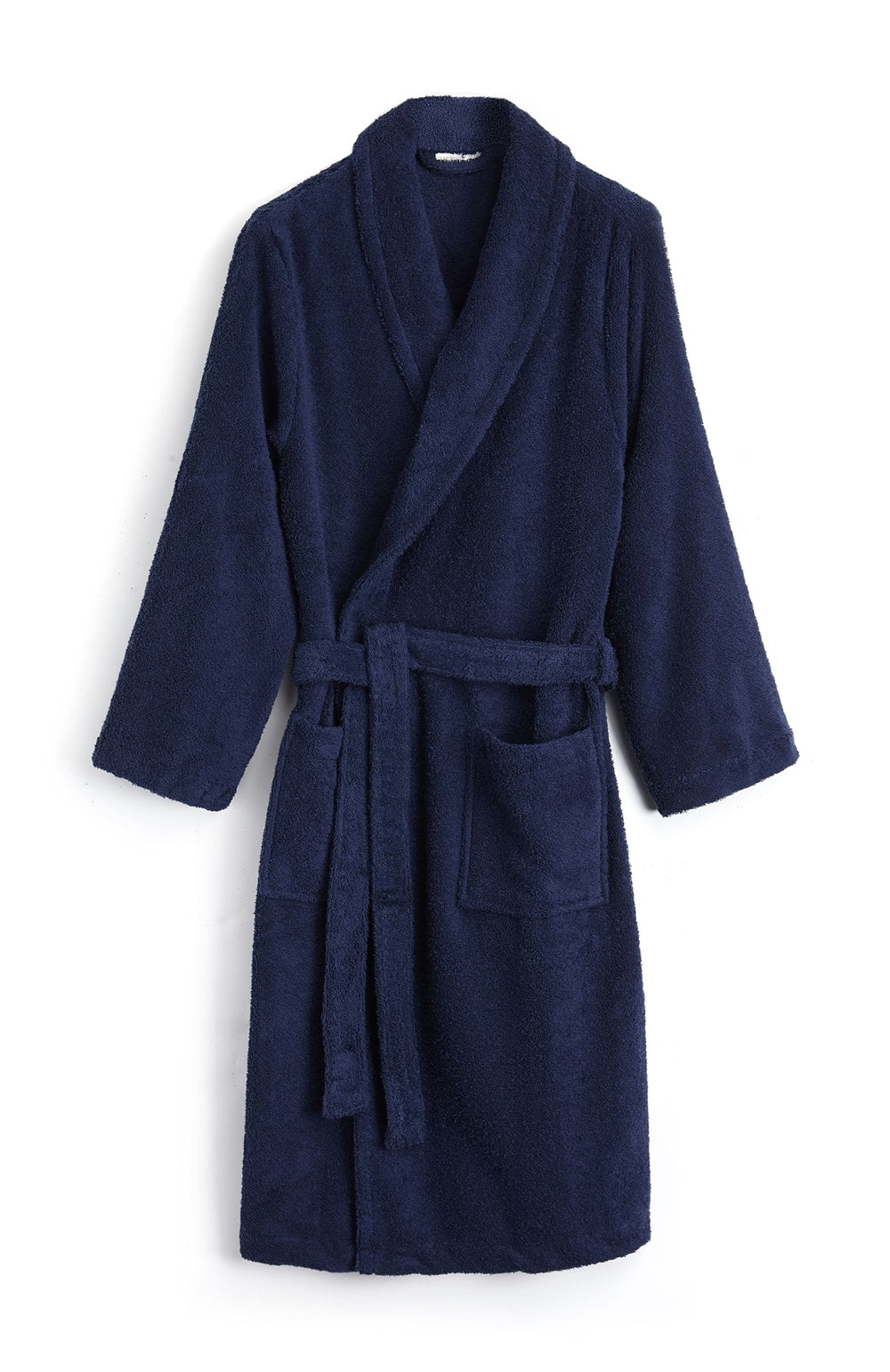 Unisex Towelling Robe. (scbr) - Midnight