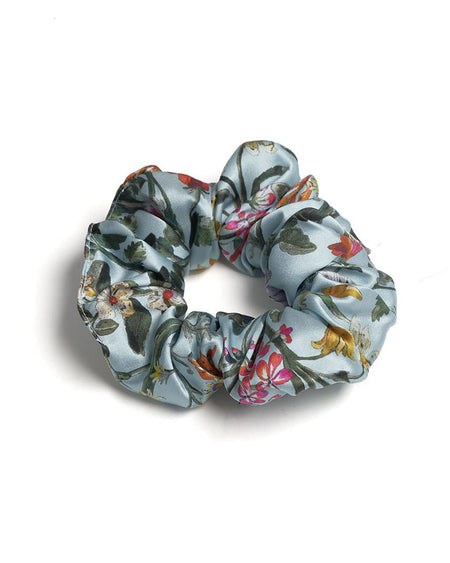 Silk Scrunchy in Eden | Bonsoir of London