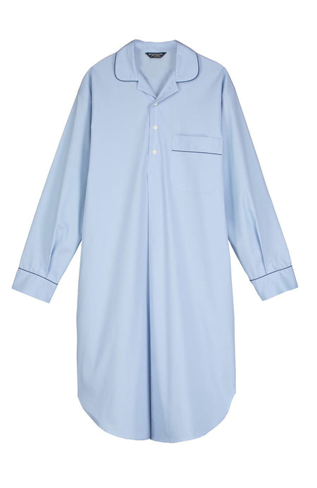 Essential Nightshirt (emnm) - Sky | Bonsoir of London