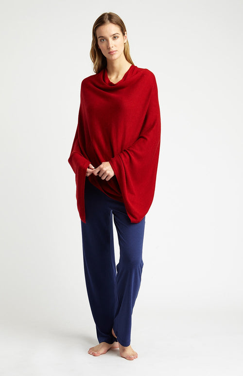 PONCHO - RED
