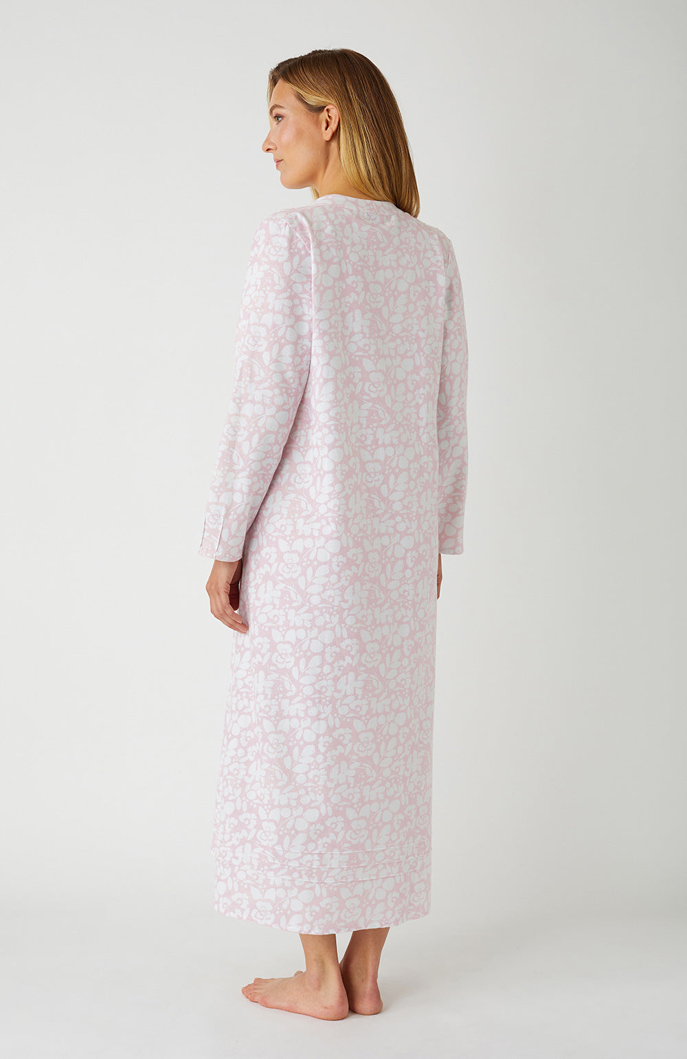 Sophie Pink Floral Nightdress | Bonsoir of London