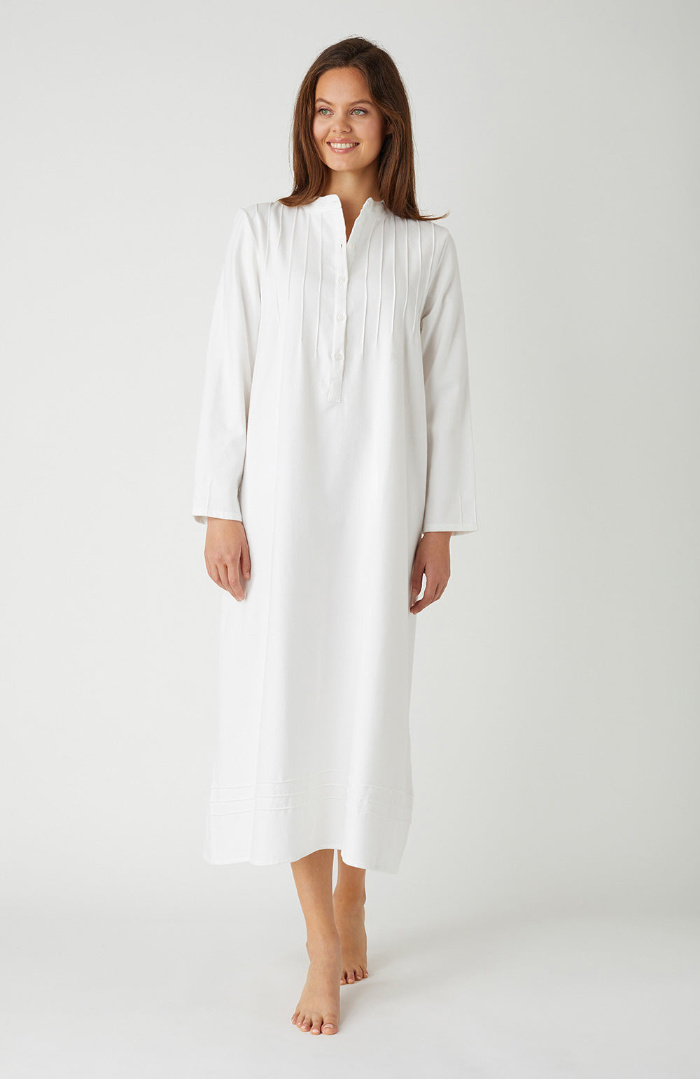 Sophie White Nightdress | Bonsoir of London
