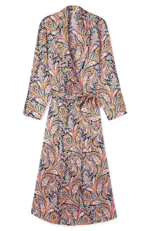 Silk Gown (3b14) - Paisley