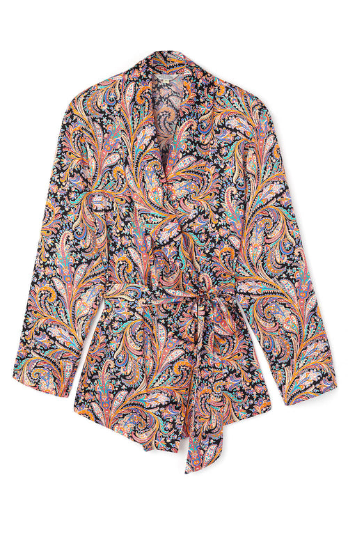 Silk Jacket (3b33) - Paisley