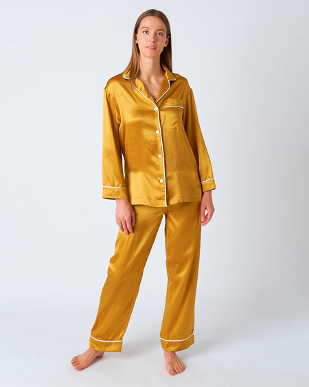 Women's Silk Sienna Pyjamas | Bonsoir of London