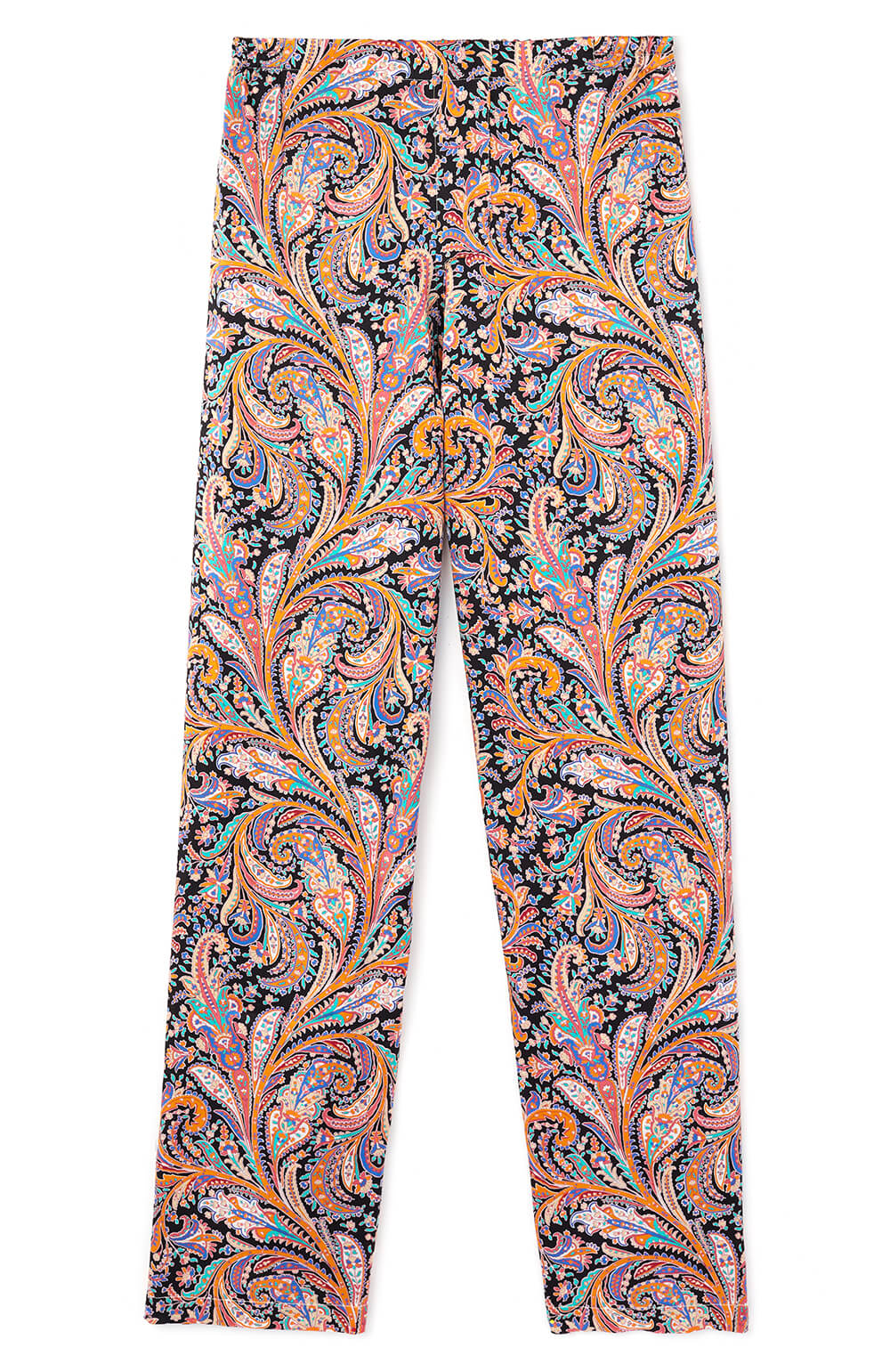 Silk Trousers (3b32) - Paisley