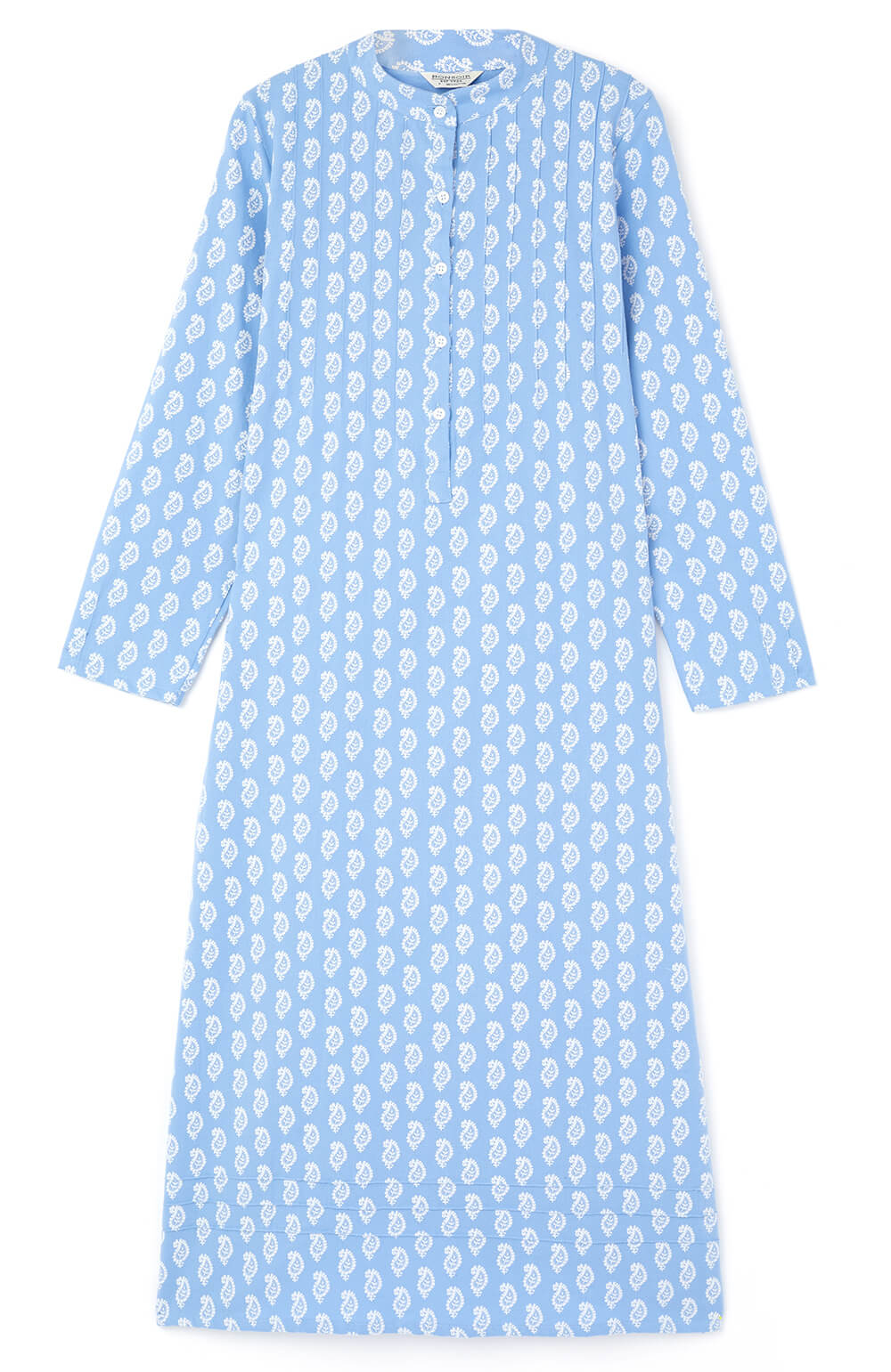 Sophie Nightdress (soph) - Blue Paisley