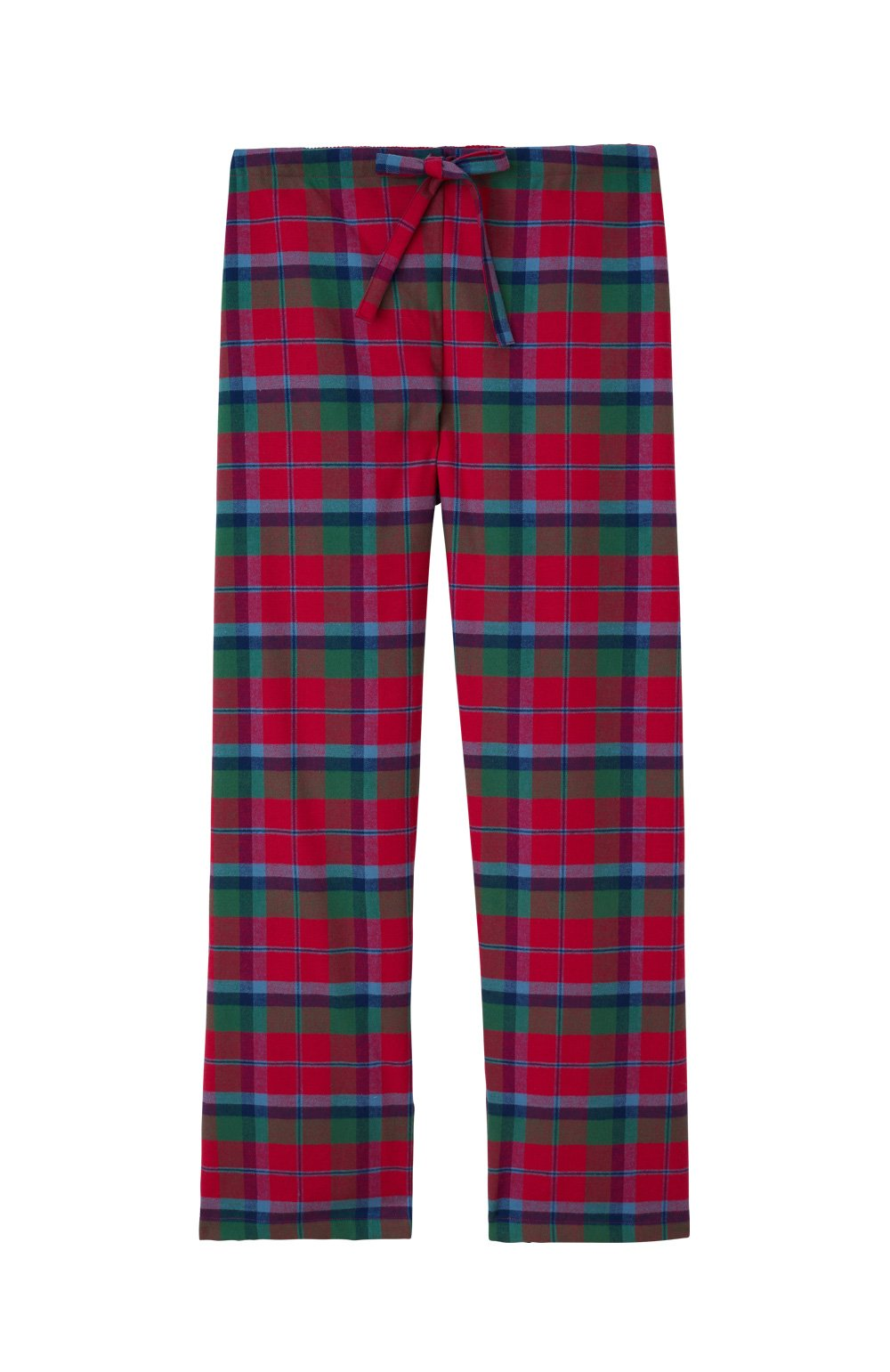 Brushed Cotton Moorland Heather Pyjama Trousers | Bonsoir of London