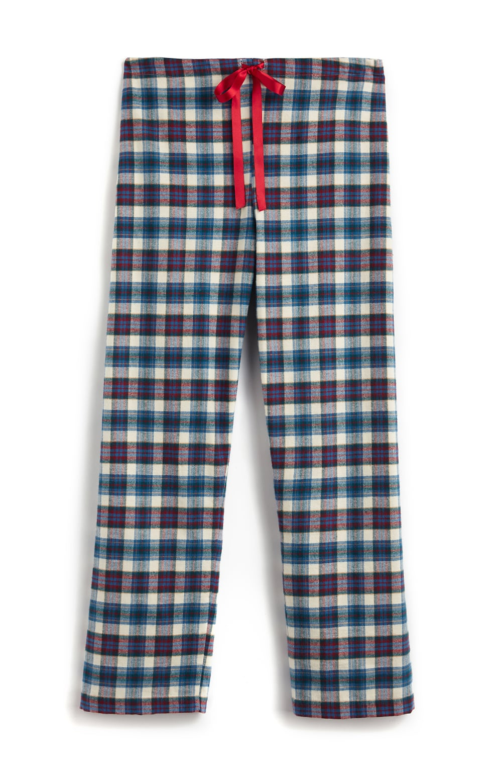 Brushed Tartan Pyjama Trousers (tltf) - Lulworth | Bonsoir of London