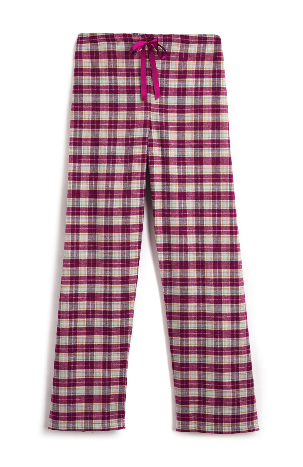 Brushed Tartan Pyjama Trousers (tltf) - Melbury | Bonsoir of London