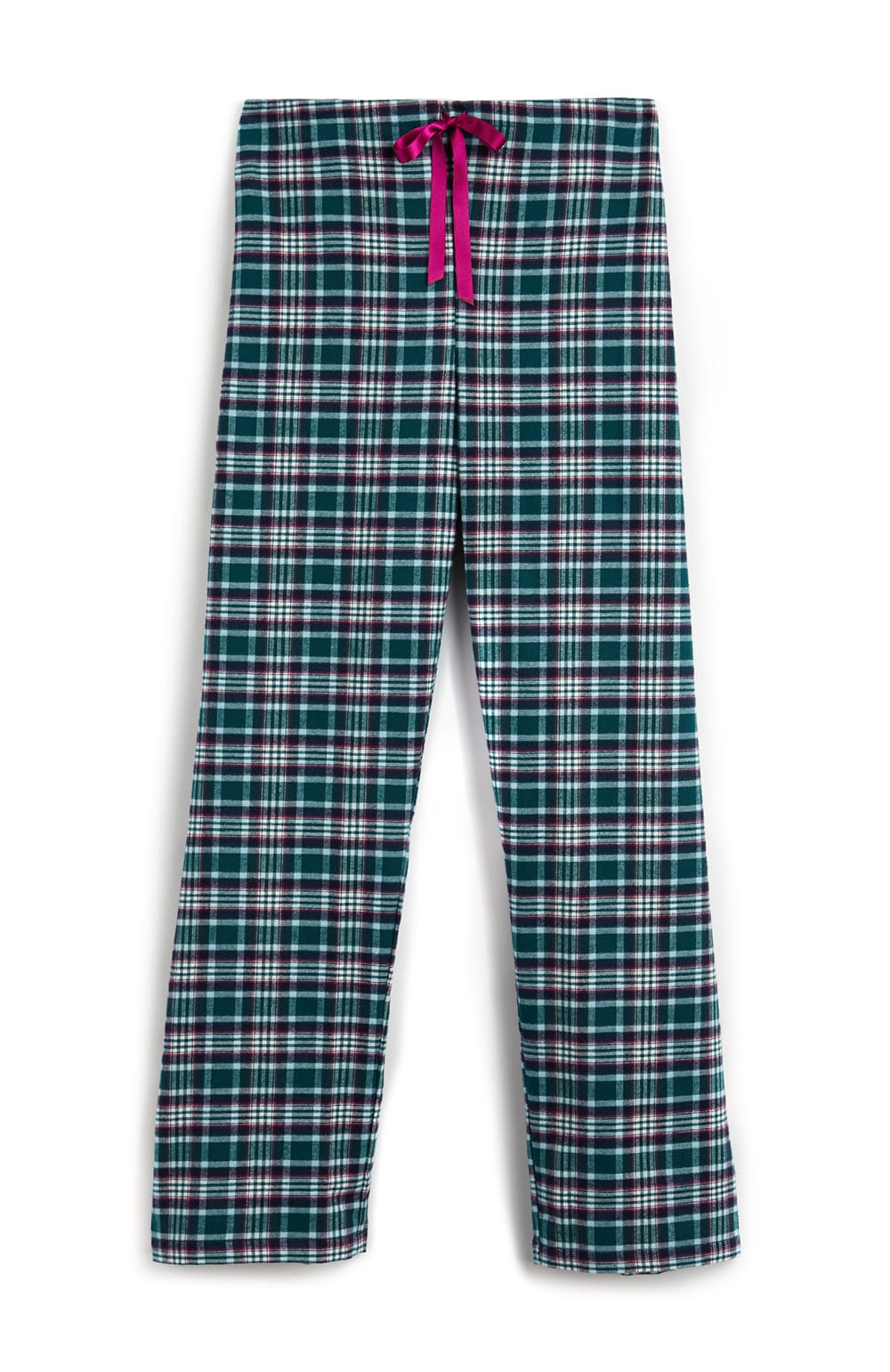 Brushed Tartan Pyjama Trousers (tltf) - Purbeck | Bonsoir of London