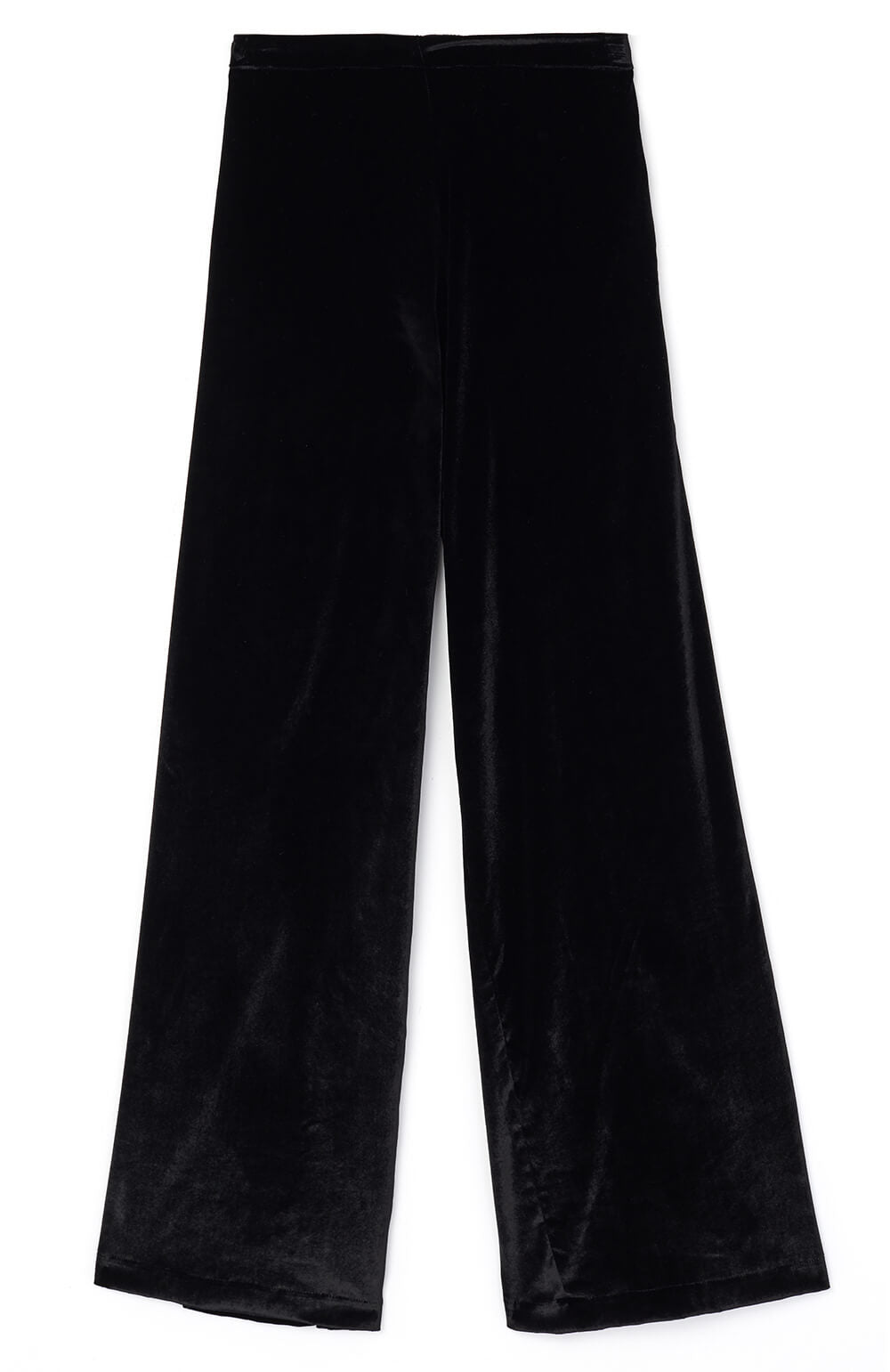 Stretch Velvet Trousers (lvtr) - Black