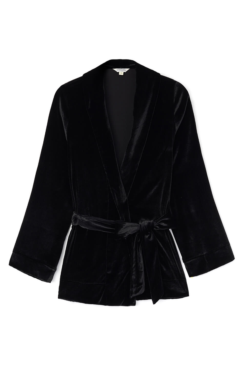 Women's Velvet Jacket (lvjk) - Black