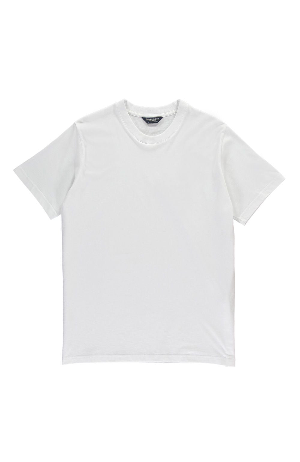 Plain Jersey T-Shirt (msst) - White