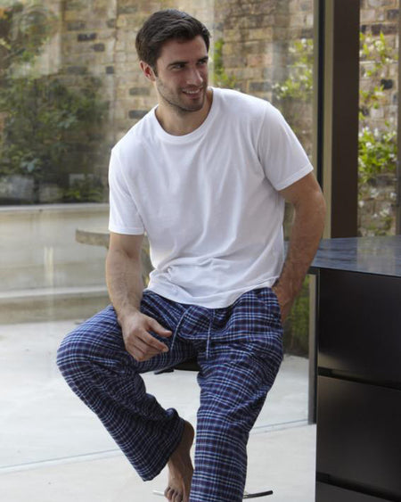 Men's Brushed Cotton Pyjama Trousers - J126