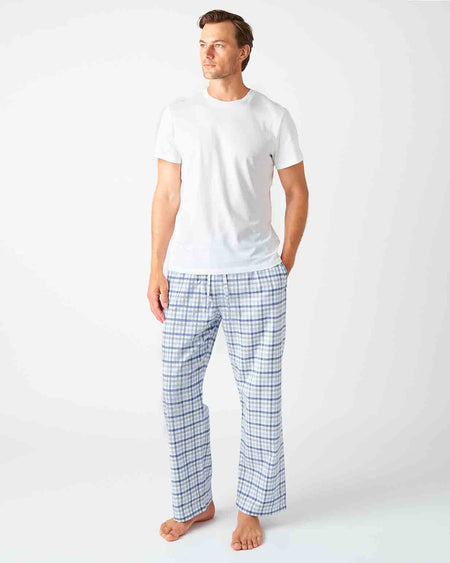 Men's Keswick Brushed Cotton Pyjama Trousers | Bonsoir of London