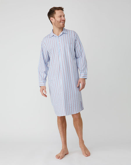 Men's Classic Cotton Nightshirt - A272