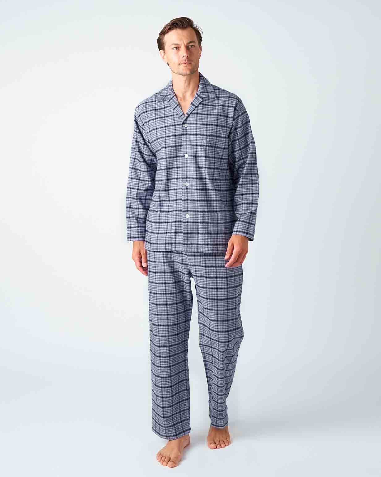 Men's Penrith Brushed Cotton Pyjama Trousers | Bonsoir of London
