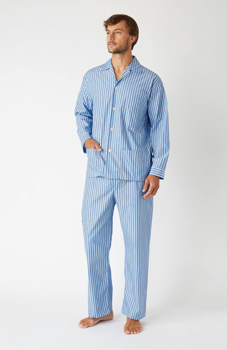 Men's Classic Pyjamas in A265 | Bonsoir of London