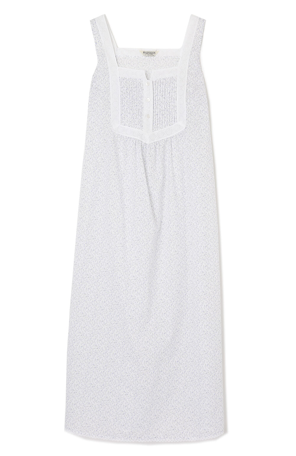 Eliza Nightdress (Eliza) - Blue Floral