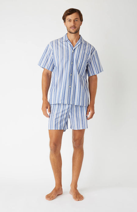 Regatta Short Pyjamas (Rmsc) - Blue Stripe