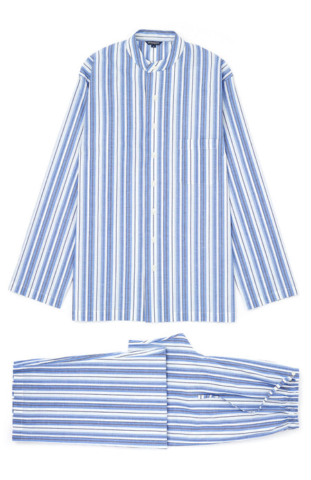 Regatta Grandad Pyjamas (Rmpg) - Blue Stripe