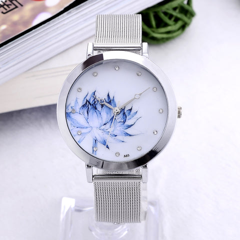 Flower Wristwatch