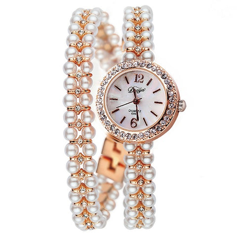 Luxury Pearls Watch