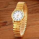 Couple Gold Wristwatches