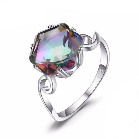 Topaz solid ring