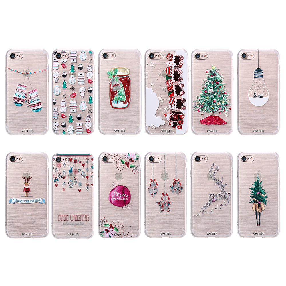 Christmas Phone Case.Christmas Phone Case For Iphone 8 8 Plus 7 6 6s Plus Soft